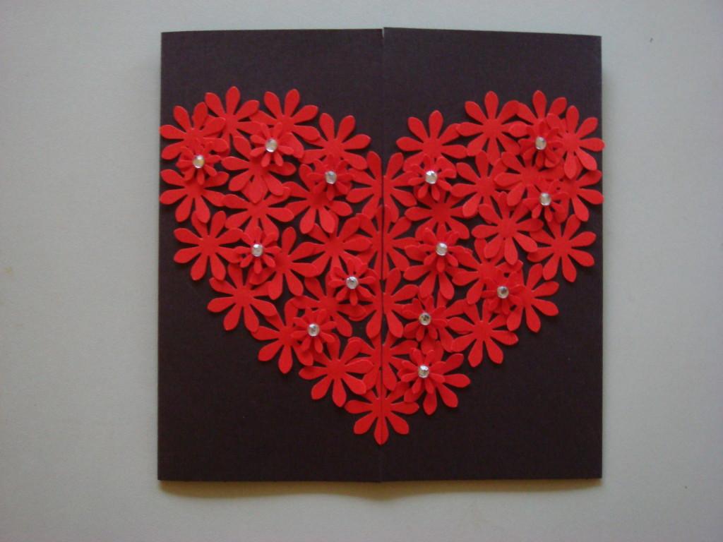 Heart card 004