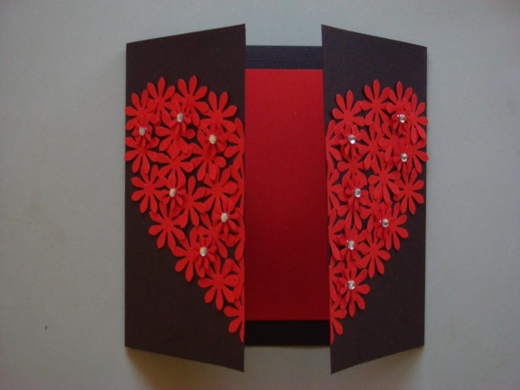 Heart card 005