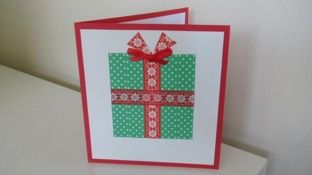 washi tape christmas cards. Black Bedroom Furniture Sets. Home Design Ideas