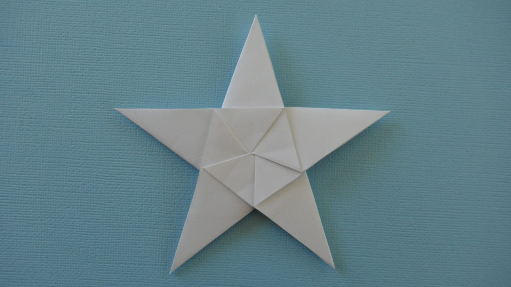 How To Fold Origami 5 Pointed Stars