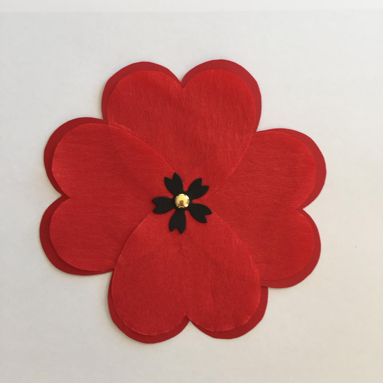 Making paper poppies making paper poppies mightylinksfo Gallery