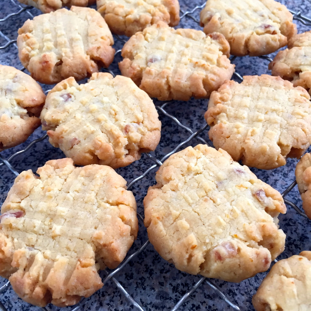 Ginger Coconut and Lemon Biscuits